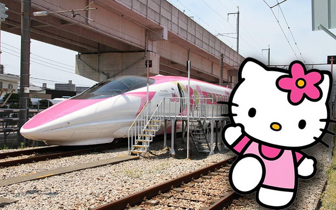 [Video] ¡Todos a bordo! Conoce el tren más rápido del mundo que es de Hello Kitty