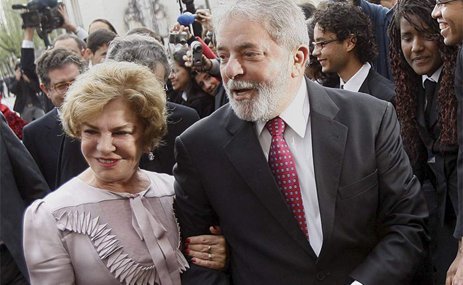 Fallece esposa del expresidente brasileño Lula da Silva