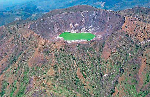 Potencial geotérmico en volcanes de Chiapas