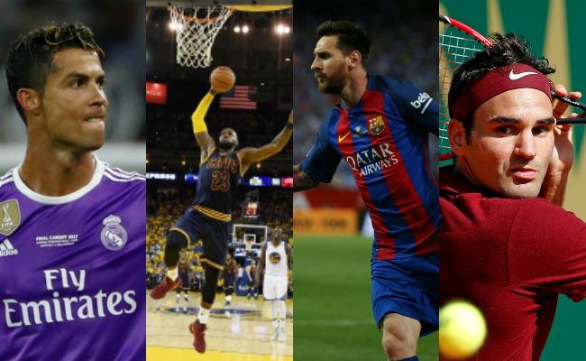 Ellos son los deportistas mejor pagados según Forbes