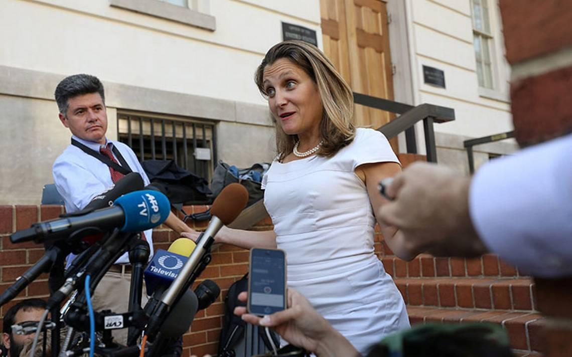 Canadá, optimista sobre lograr acuerdo en TLCAN este viernes