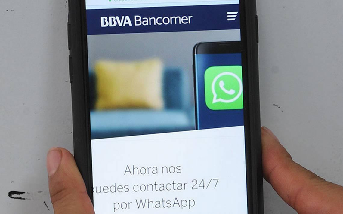 Bancomer dará servicio en WhatsApp para brindar mayor calidad a sus clientes