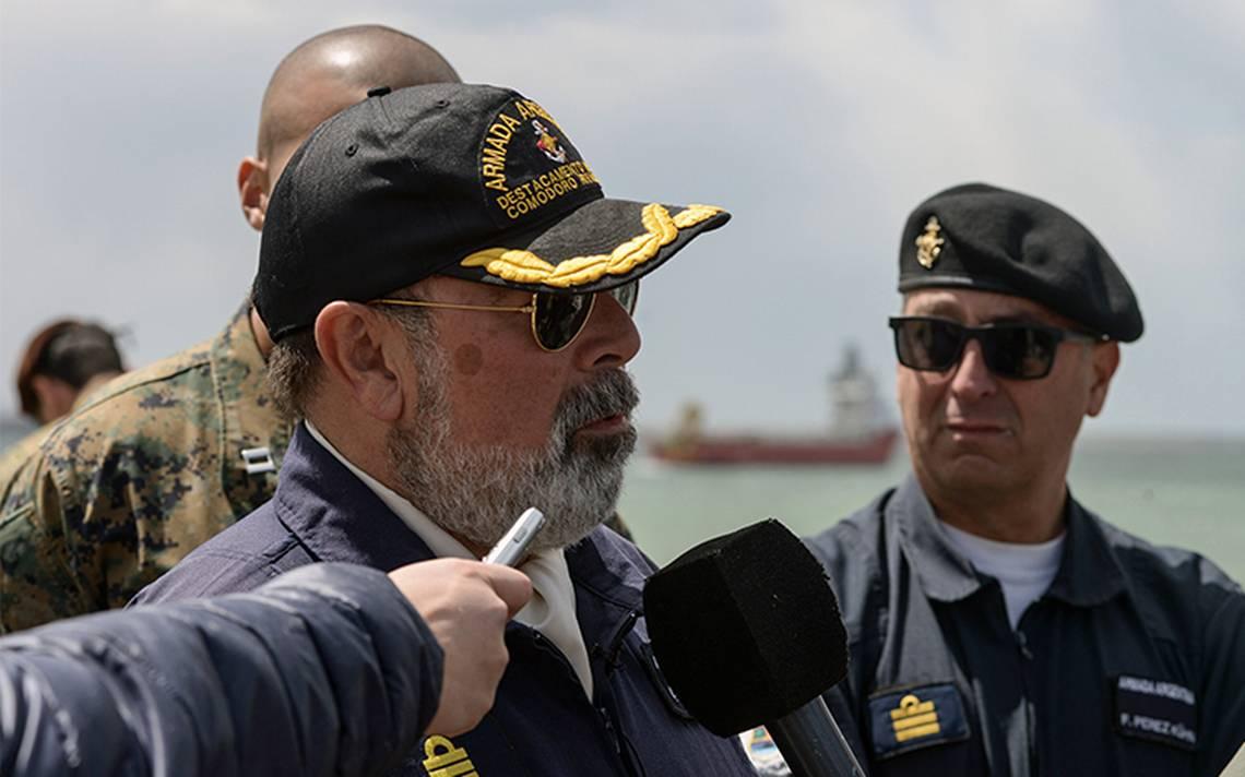 Comandante de la ArmadaArgentina asegura que hallarán al submarino