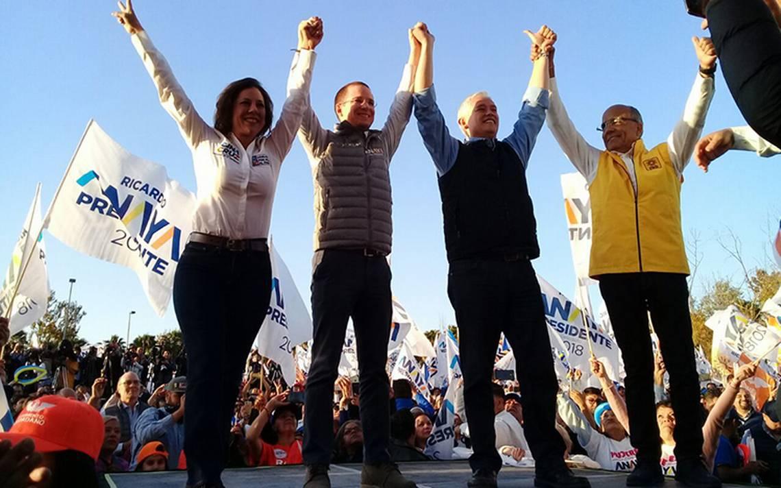 Anaya promete recuperar la paz y seguridad en Baja California