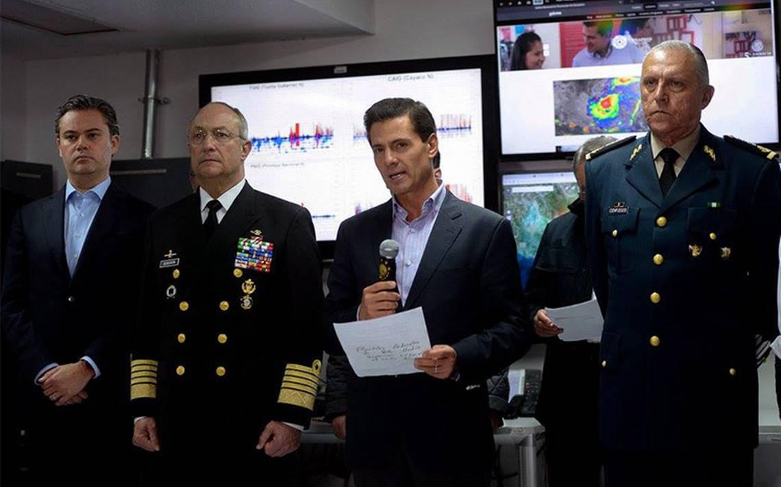 Peña Nieto viaja a Chiapas para supervisar acciones de apoyo tras sismo