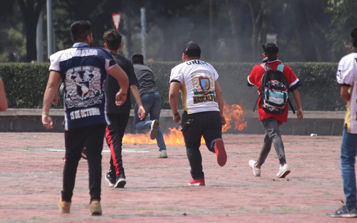 UNAM denunciará a quienes atacaron asamblea del CCH en Rectoría
