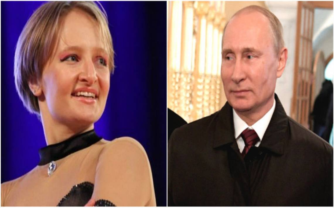 Confirman identidad de la hija menor de Putin