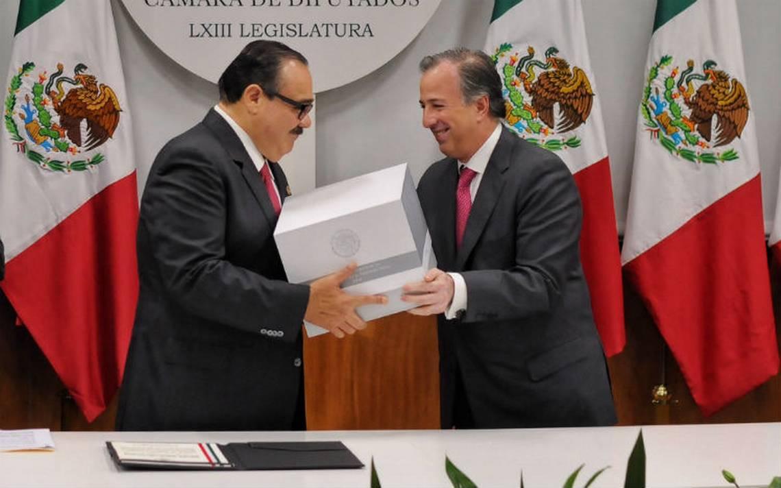 Meade comparecerá en San Lázaro por Paquete Económico 2018