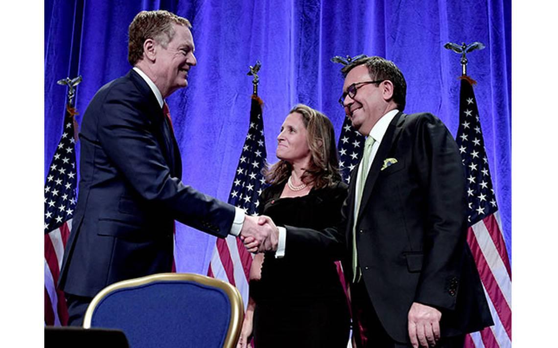 Pese a amenazas de Trump, negociadores planea avanzar en segunda ronda del TLCAN