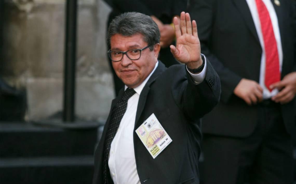 """Monreal descarta """"suicidio"""" político si no logra candidatura al gobierno"""