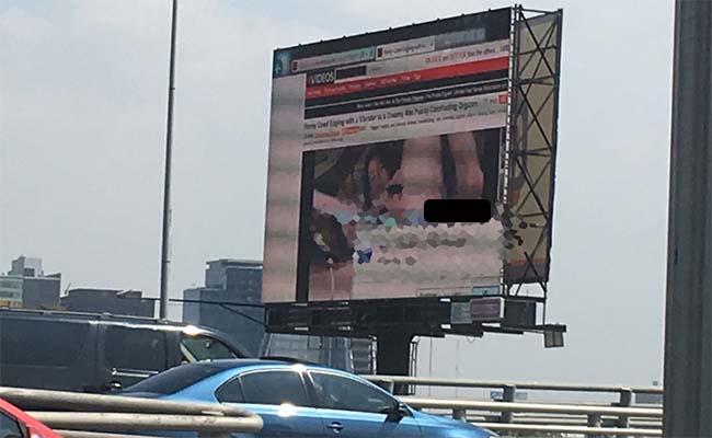 Hackeo provocó exhibición de pornografía en Periférico
