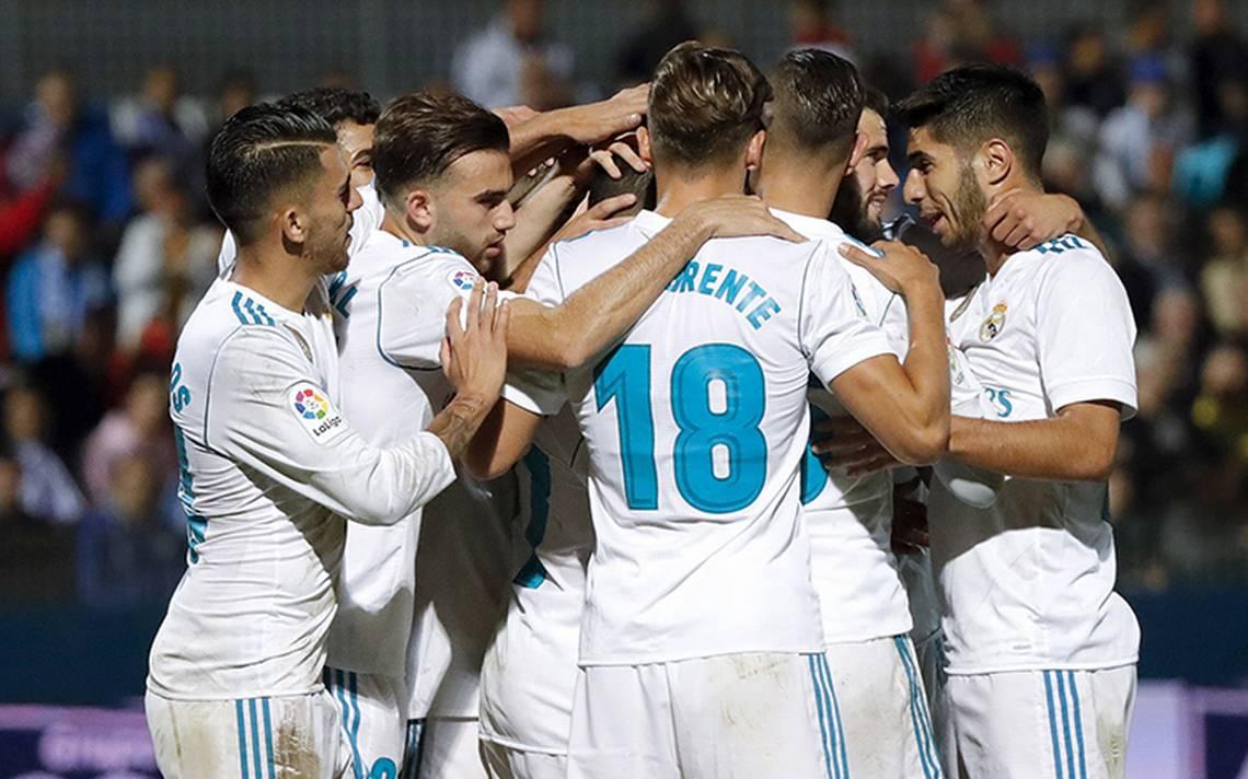 Real Madrid gana con dos penaltis al Fuenlabrada