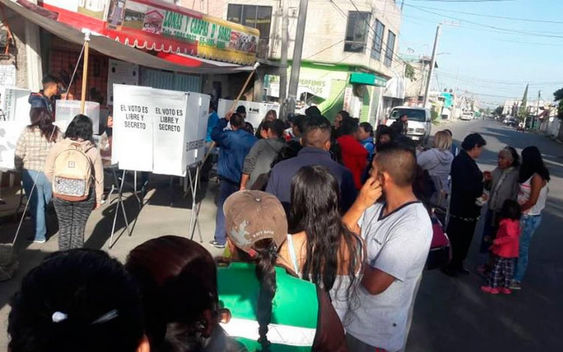 Ciudadanía, molesta por retraso de casillas; más de una hora esperararon