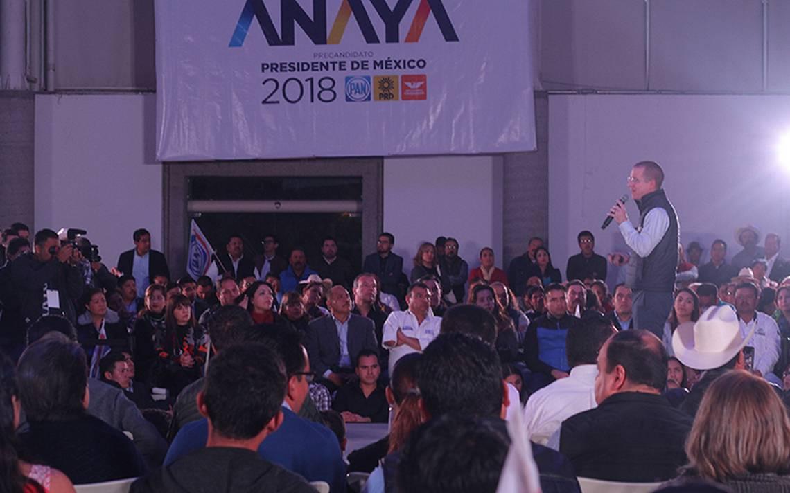 Que el PRI siga soñando que va a ganar: Ricardo Anaya