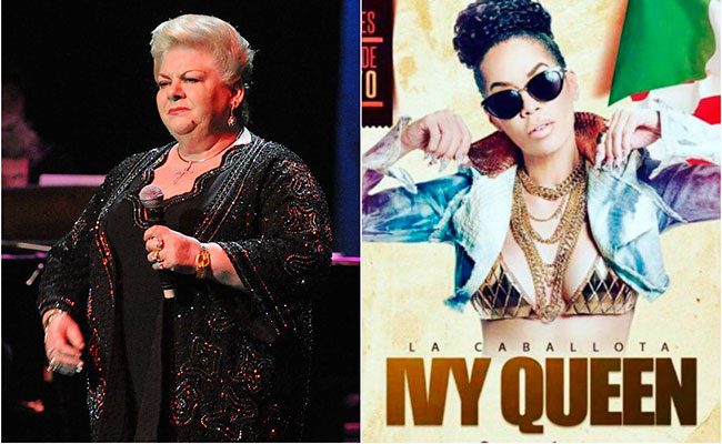 Ivy Queen le gustaría cantar con Paquita la del Barrio