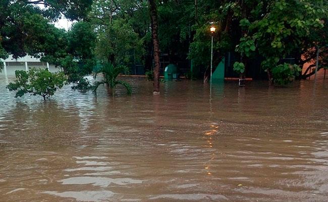 Colapsa Villahermosa, Tabasco por fuertes lluvias