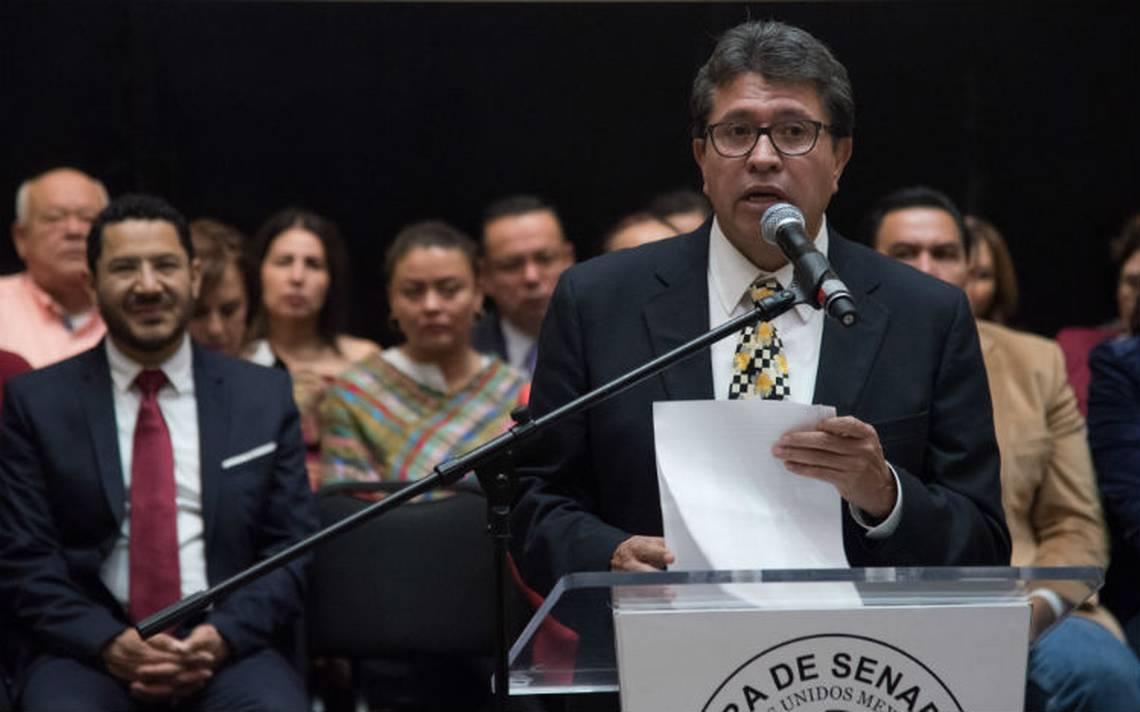 Bancada de Morena en Senado no está fuera del rango constitucional: Monreal