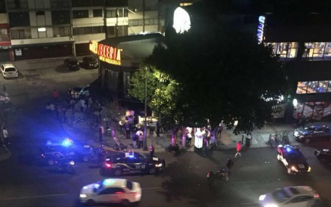 Balacera en La Cervecería de Barrio en Universidad deja dos heridos