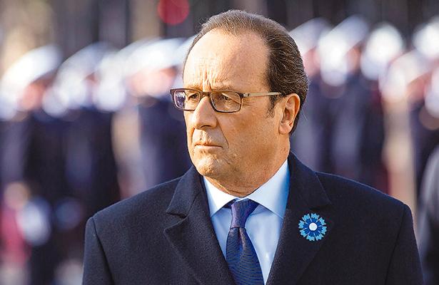 Francois Hollande renuncia a un segundo mandato