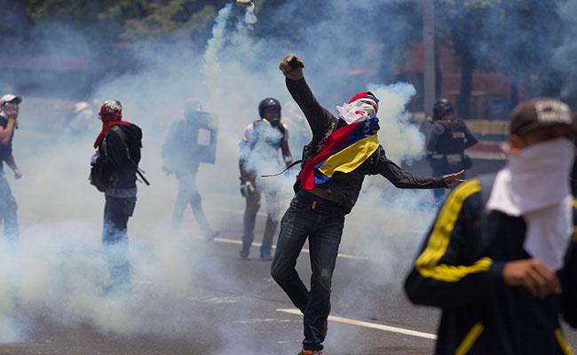 Suben a cinco los muertos por las protestas contra Maduro en Venezuela