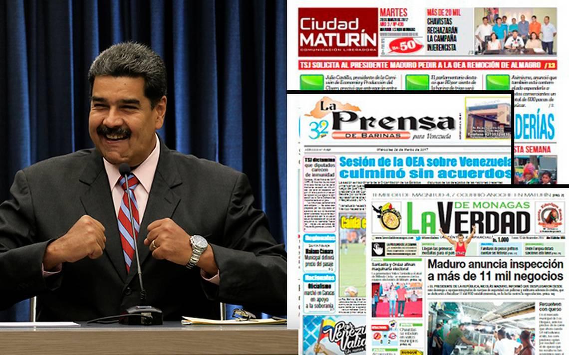 Censura en Venezuela: 40 periódicos han cerrado durante mandato de Maduro