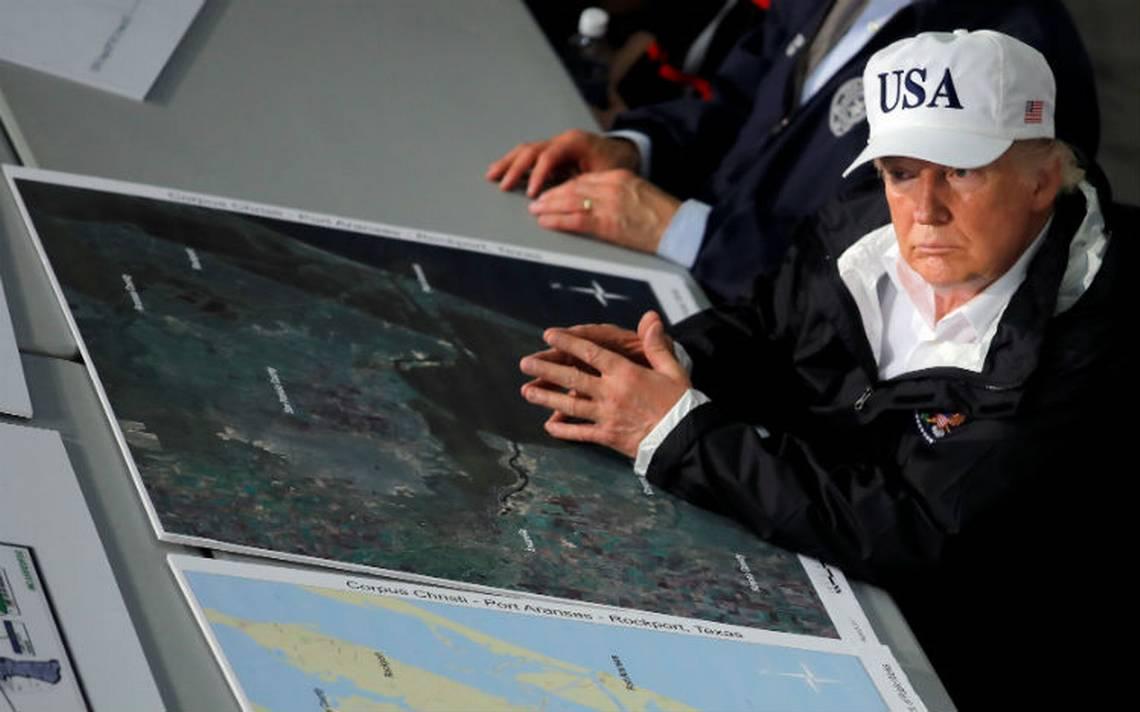 """Harvey alcanza """"proporciones épicas""""; Trump agradece respuesta inmediata de autoridades"""