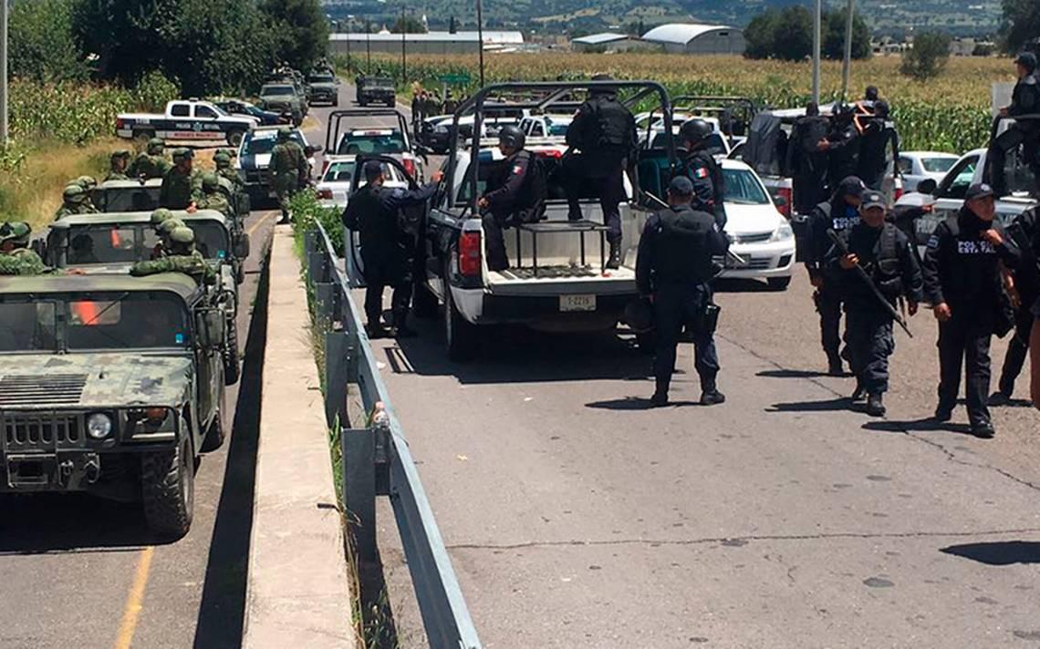 Tras balacera por robo a tren, fuerzas federales sitian Huamantla