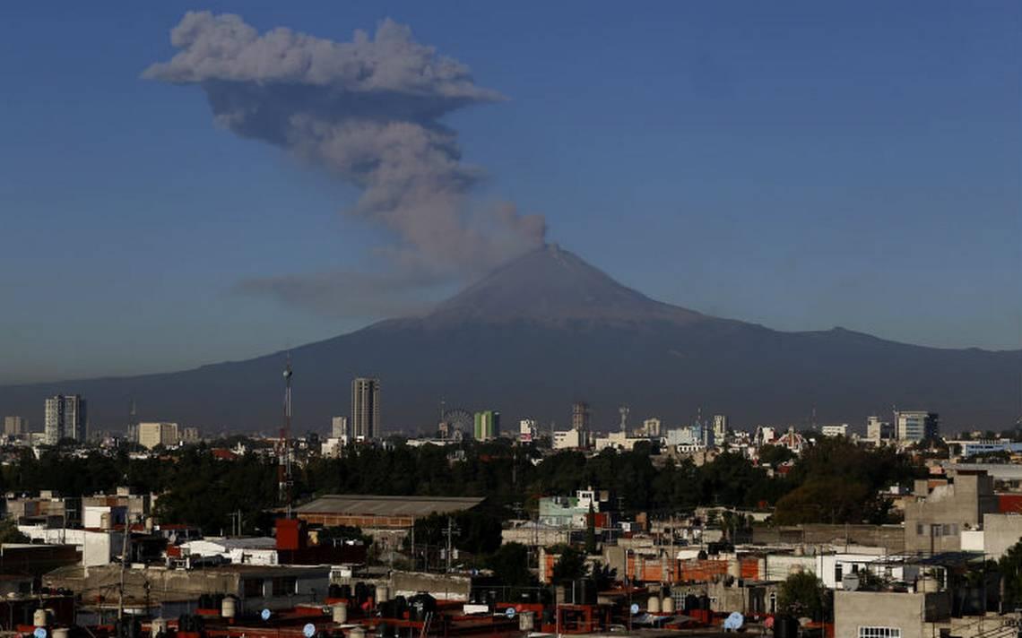 UNAM presenta mapa de peligros del volcán Popocatépetl