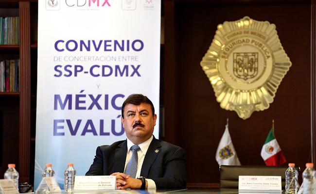 SSP firma convenio con Universidad de Stanford y México Evalúa para reducir homicidios