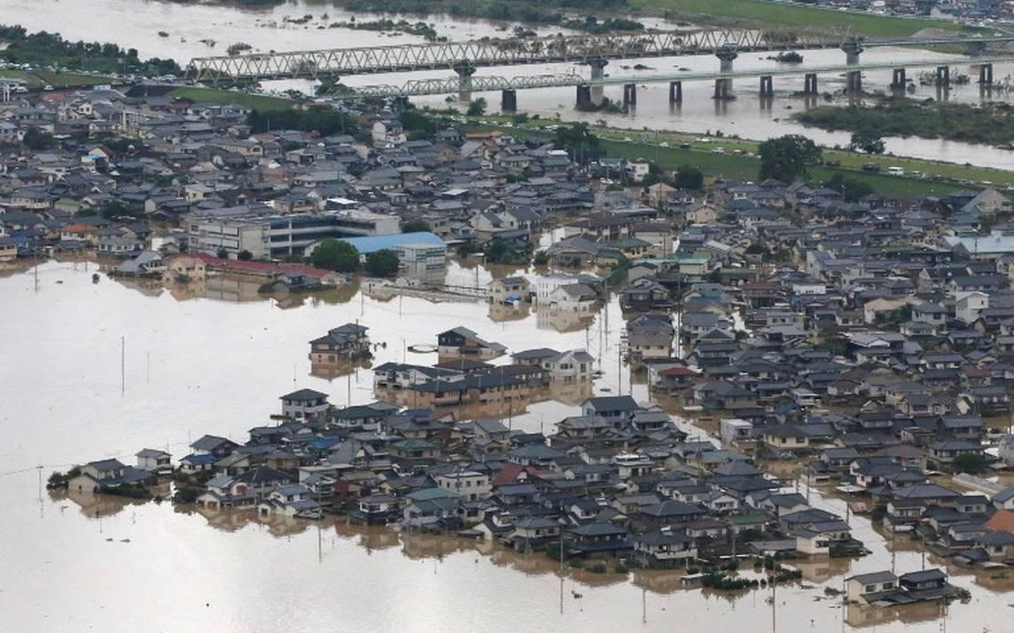 Continúa búsqueda de sobrevivientes en Japón, van 141 muertos tras lluvias