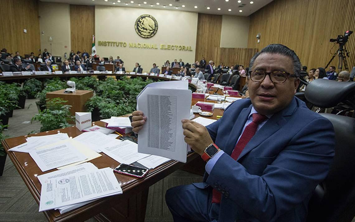 """INE actúa de """"mala fe"""" con Morena tras pleito por fideicomiso, insiste Horacio Duarte"""