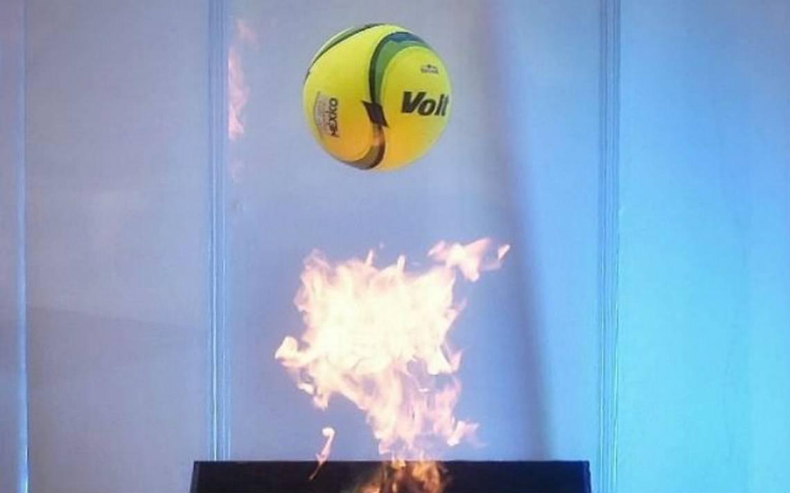 Este es el balón con el que se jugará la liguilla