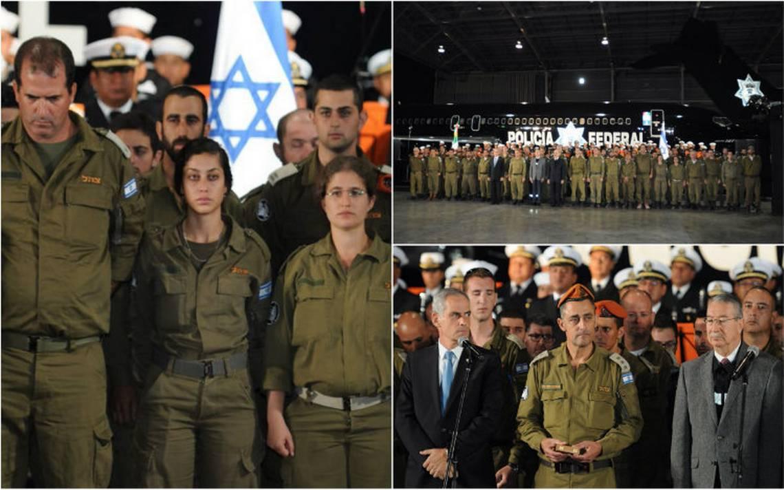 Despiden a rescatistas de Israel tras su labor en derrumbes