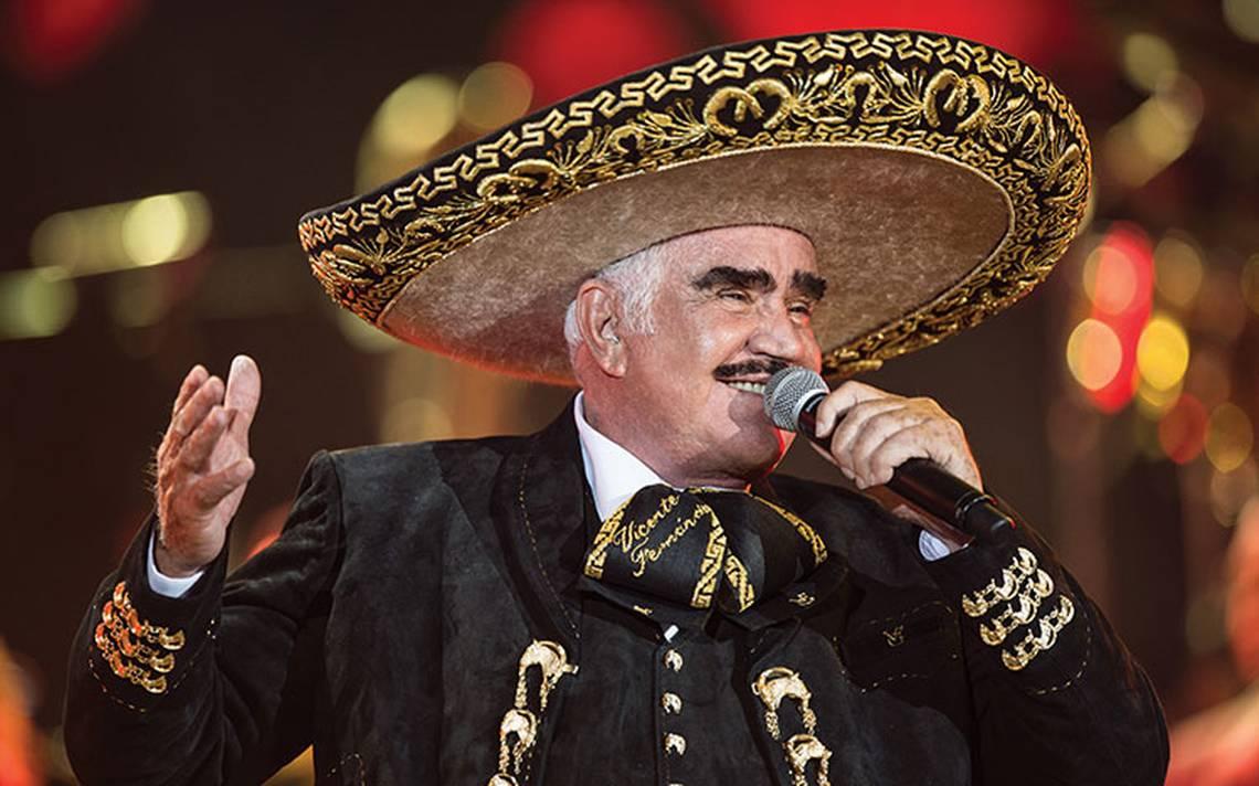 Vicente Fernández lanza su nuevo disco Más romántico que nunca