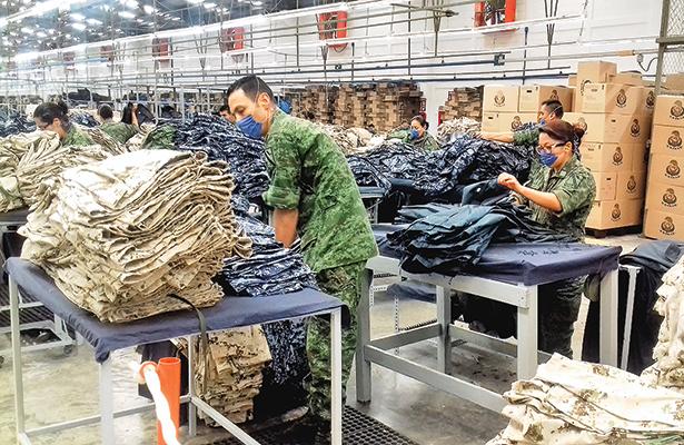 El Ejército fabrica 3.3 millones de artículos para labor social