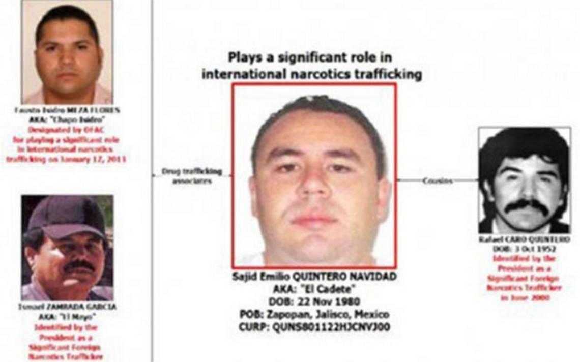 Detienen en EU a 'El Cadete', primo de Rafael Caro Quintero