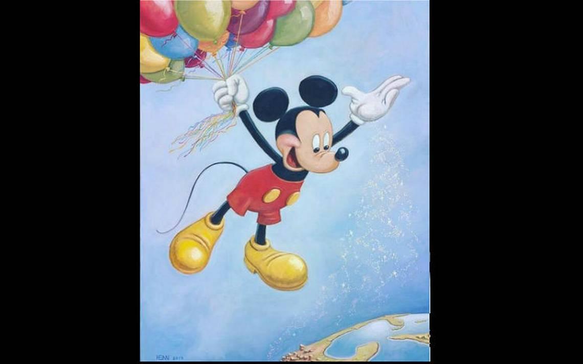 Revelan retrato oficial del cumpleaños 90 de Mickey Mouse