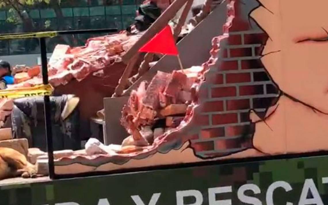 """[Video] """"Manita"""" saluda desde carro alegórico del desfile militar y se vuelve viral"""