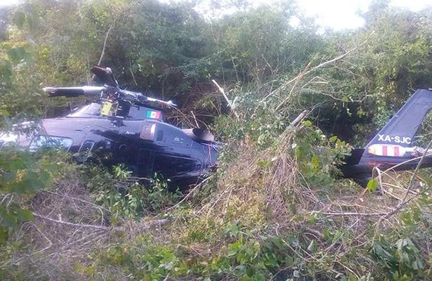 Se registran dos accidentes aéreos en Veracruz y Durango