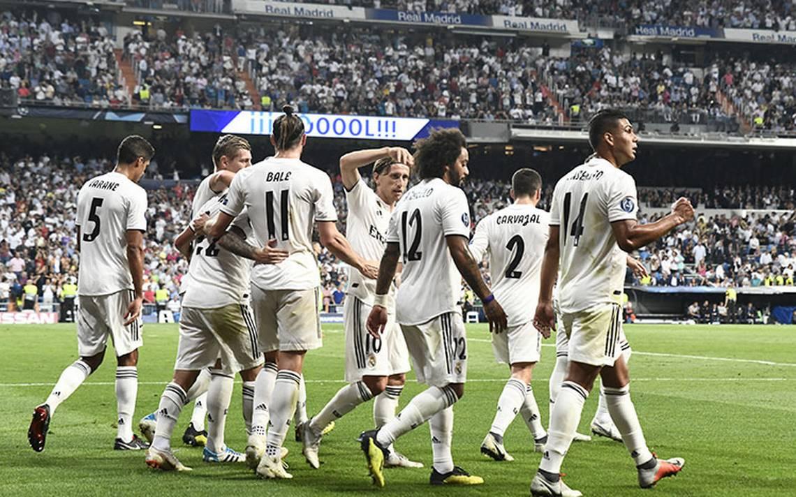 Real Madrid golea a la Roma en la Champions League