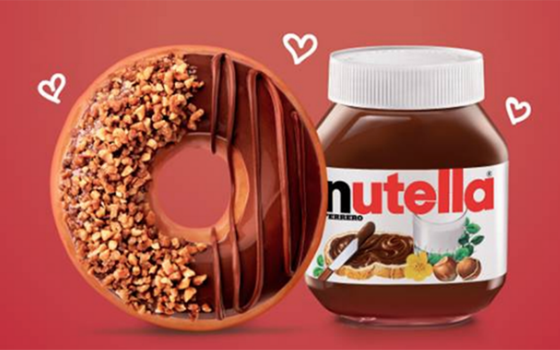 ¡Donas de Nutella llegan mañana a México!