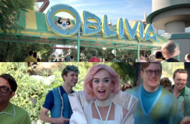 """Katy Perry te invita a """"Oblivia"""", el nuevo parque que critica a EU"""