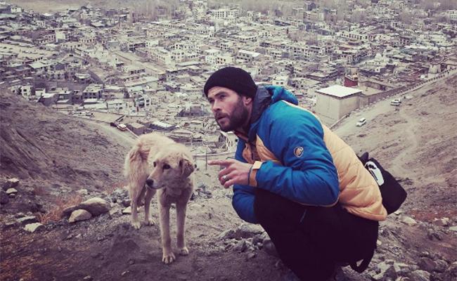 Chris Hemsworth sufre crisis al intentar escalar el Himalaya