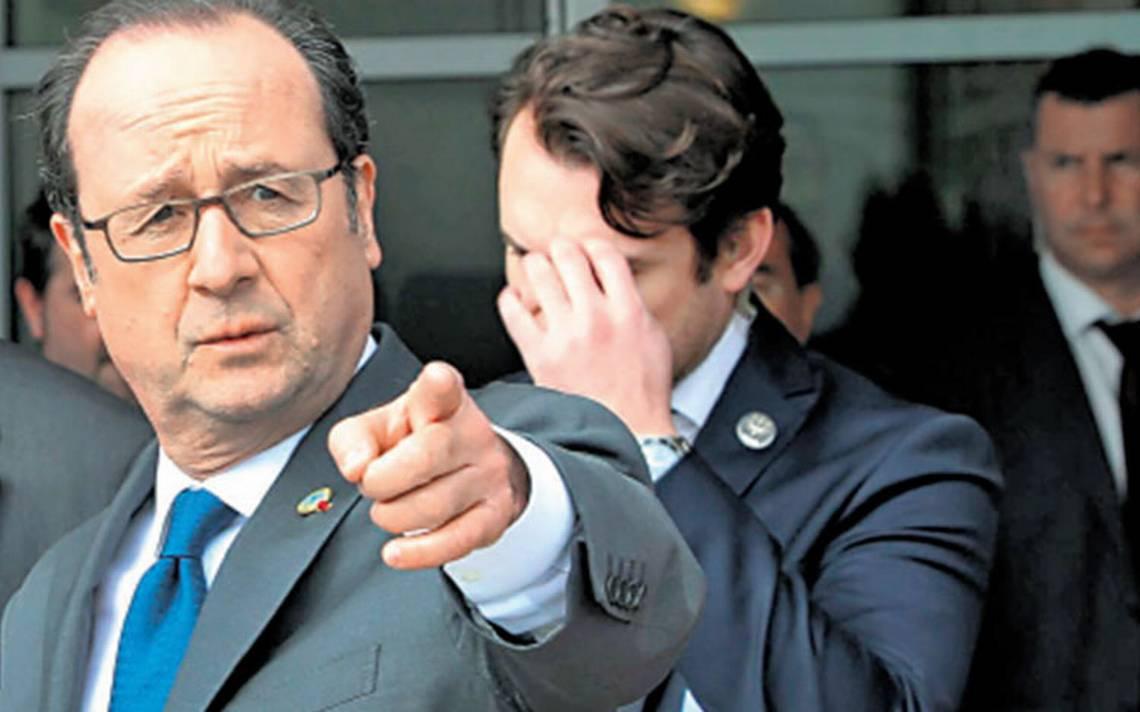 Hollande quiere volver a escena… mira al 2022