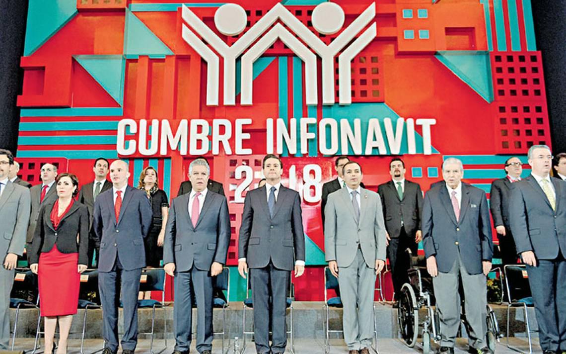 PeA�a Nieto entrega el crA�dito hipotecario 10 millones del Infonavit