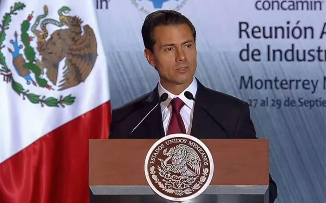 Finanzas públicas sanas permitirán reconstrucción de México: Peña Nieto