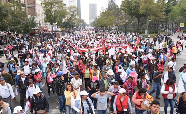 Previstas por lo menos cuatro manifestaciones en la CDMX