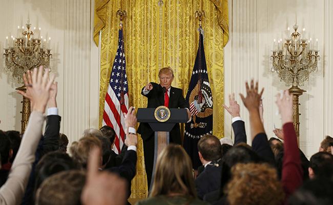 Trump no asistirá a cena tradicional con periodistas de la Casa Blanca