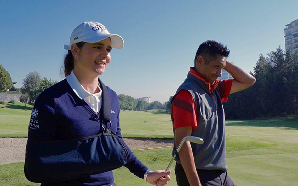 Lorena Ochoa renueva ilusiones al conducir programa de golf