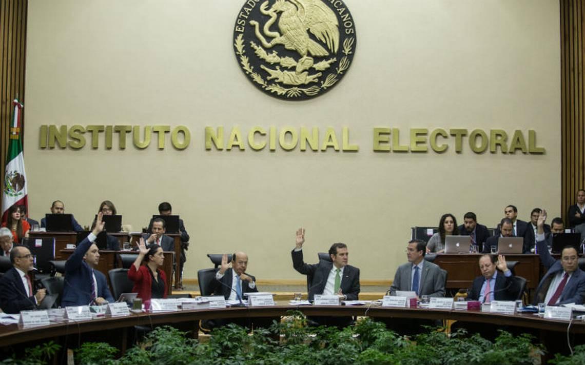 INE avala 4.9 mil mdp de financiamiento para partidos